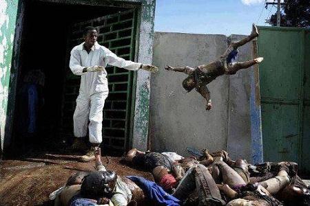 محل نگهداری اجساد مسلمانان میانمار